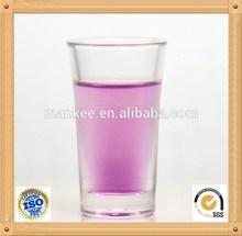 1.5oz 45ml unbreakable mini hot shot glass ware