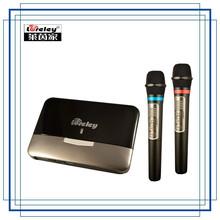 Loreley Professional wireless Wi-Fi microphone set for Karaoke