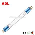 Double dened 2 pins UV germicidal lamp with aluminum cap