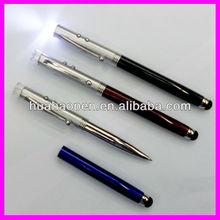 High Sensitivity Touch Screen PEN/Tablet Pen touch/led light ballpoint pen touch