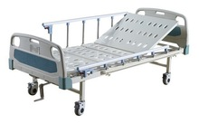 One function two cranks manual hospital bed