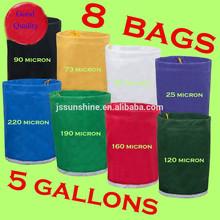 Bubble bag 5gallon 8bag ice bag