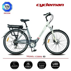 Cheap electric bike with EN15194 approval issued by TUV