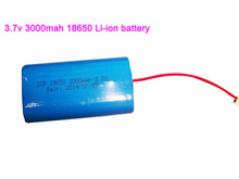 Customized 18650 1s2p rechargeable li-ion battery 3.7v 3000mah