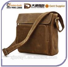 Vintage Men Leather Messenger Bag for Wholesale