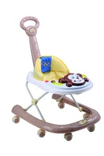 2015 new model with monkey music board and with push bar baby walker