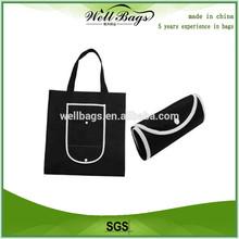 Recycle nylon Grocery Foldable Bag, nylon folding bag, nylon foldable bag