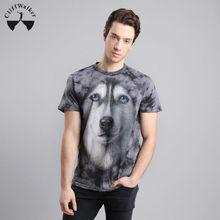 CliffWalker 100% cotton latest wholesale OEM fashion tie-dyed 3d t-shirts men