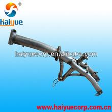 steel folding bike frame/ bicycle frame made in China