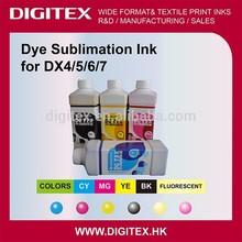 Neon color Dye Sublimation Ink For Inkjet Printer