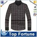 Profesional camisa vestir personalizada trabajo para hombre fábrica