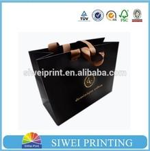 Customized Cardboard Cheap Promotional satin gift bag