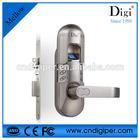 6600-98 smart five latch office use fingerprint password door lock