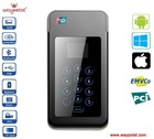 Bluetooth Mobile Phone POS with Magnetic Strip and Smart Card Reader