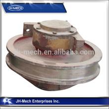 Top quality double bridge crane wheel manufacturer