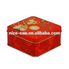 Custom Mooncake Tin Package Box