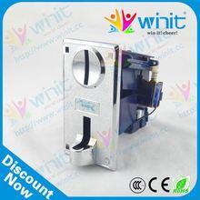 Buena calidad de la cpu de múltiples electrónica mecanismo de la moneda/validador de monedas/mecanismo de la moneda de piezas de repuesto para la foto de la máquina expendedora
