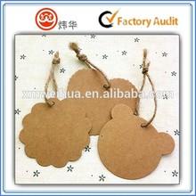custom shape hang tags