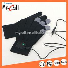 Touch Screen USB Bluetooth Talking Gloves Call Headset Speaker Mic 4 Smart Phone