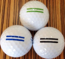 (12 balls into 1) boxes two piece range practice golf ball