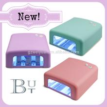 Professional 36W UV nail lamp, Gel nail polish kit