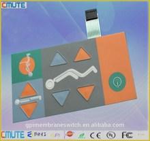 Embossed Tactile Membrane Keypad
