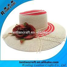 fashion beach women straw hat