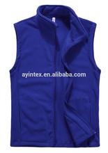 European Style Polar Fleece Sleeveless Coat For Men Purple Double Brush,Anti-pilling one side Manufacturer