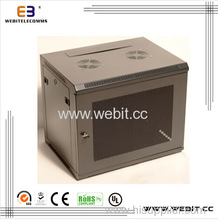 factory direct 19 inch Wall mounted cabinet with perforated door