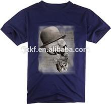 100% cotone alto quanlity t shirt serigrafia cranio graphic design