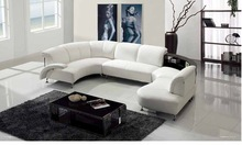 2015 european furniture, italian leather sofa for living room