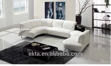 2015 european furniture, italian leather sofa for living room