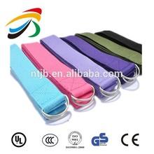 NEW 8 ProSource Aqua Cotton Yoga Strap Plastic Stretch Belt Figure Color Gym
