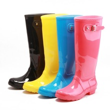2015New Fashion rain boots Environmental latest design women wellington boots ladies rain Boots