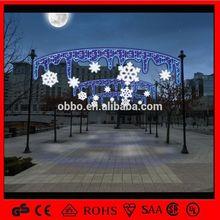 OB-SL decorations skylines motif light outdoor decoration christmas star lighting