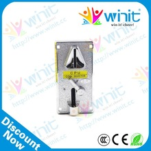 Good quality cpu electronic multi coin mechanism / coin validator / coin mech spare parts for mall kiosk products