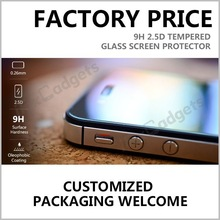 0.26mm 2.5D Tempered Glass Screen Protector For iphone