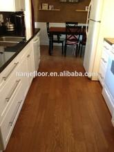 Factory price finish birch plywood, engineered hard wood flooring, piso