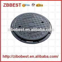 heavy duty en124 round composite tank fuel manhole cover