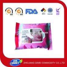 GMPC approved OEM alcohol free aloe feminine intimate wipe