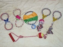 various styles rope dog toys pet products