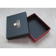 Custom Cardboard Printed Black Rectangle Cake Box