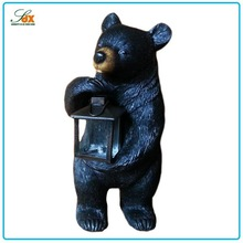 Newest top sell bear resin statue garden decoration