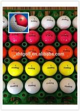 2015 color Novelty golf ball 2-pc tournament ball