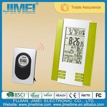 Digital LCD Temperature Weather Station digital Table alarm clock