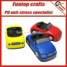Sports car stress ball, car shaped anti stress ball, car stress ball