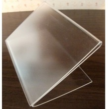 glare resistant acrylic frame holder