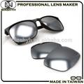 gafas de sol flash lente de plata espejo