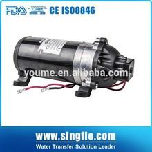 Convenient electric 24v dc high pressure car washing machine 4.5L/Min car wash pump for sale