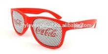 Custom logo Pinhole Sunglasses,carnival sunglasses,promotional wayfarer sunglasses